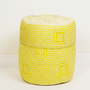 soft basket (cuadro yellow)