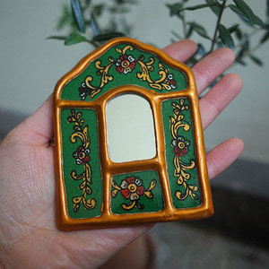 golden mirror ( green mini )