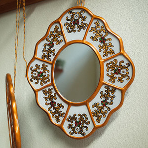 golden mirror ( white L )