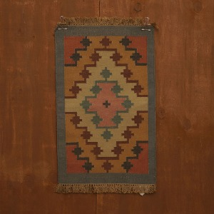 relic rug (block blue)