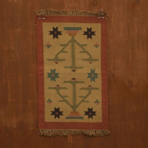 relic rug (sky yellow)