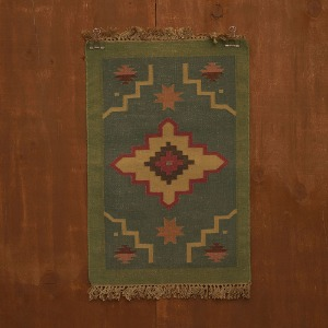relic rug (star green)
