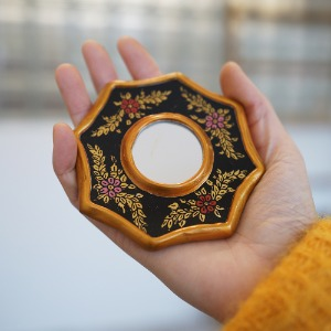 golden mirror ( antique black mini )