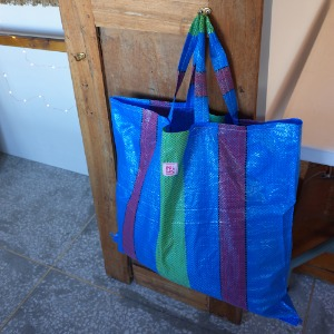 super dooper bag_ blue L